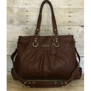 Coach Ashley Leather Convertible Satchel f15513